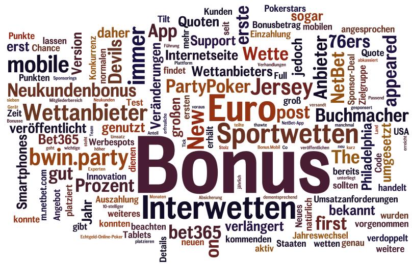 Sportwette Bonus