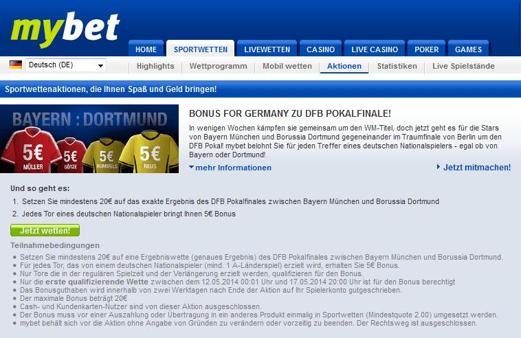 Mybet Deutschland