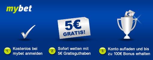 Mybet 5 Euro