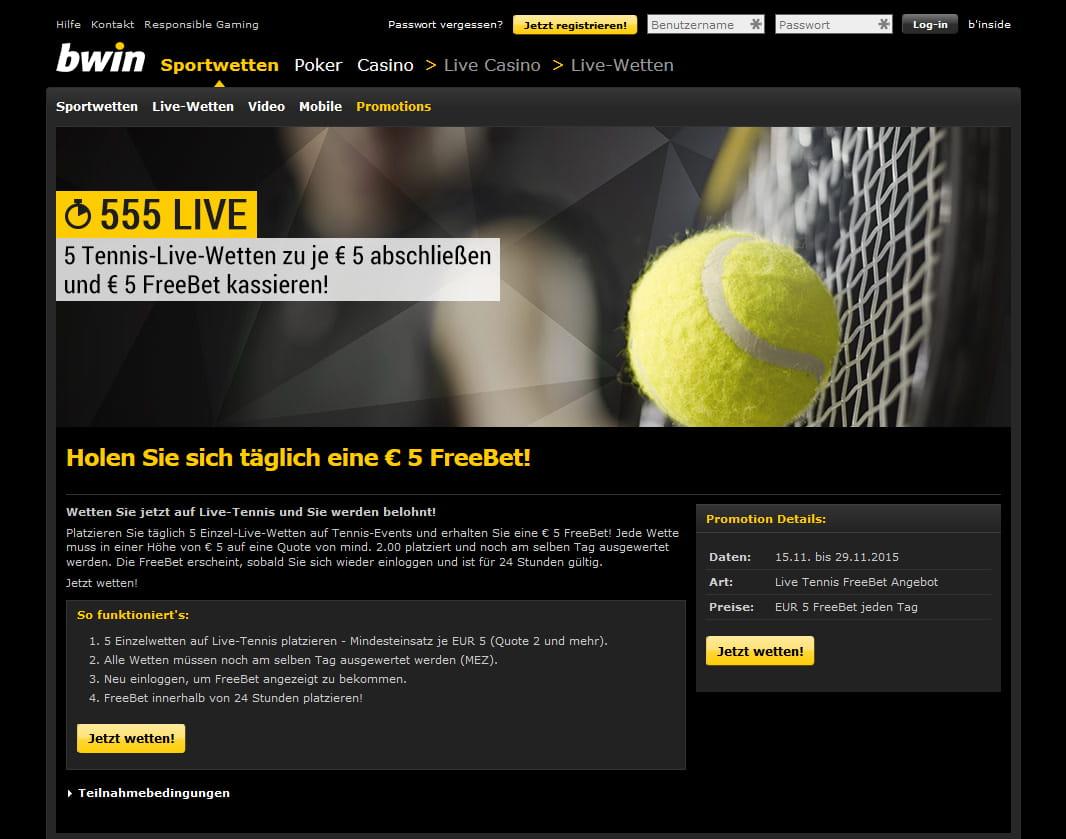Sportwetten magazin tennis livescore