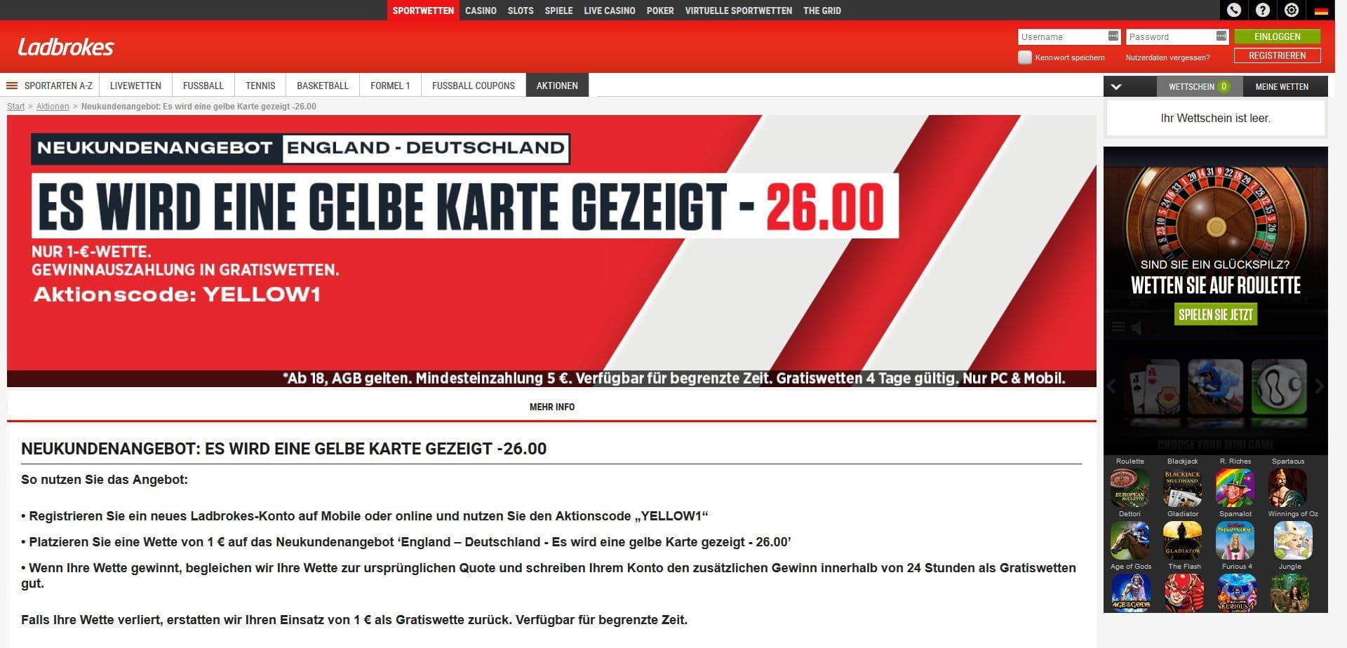 Ladbrokes Deutschland